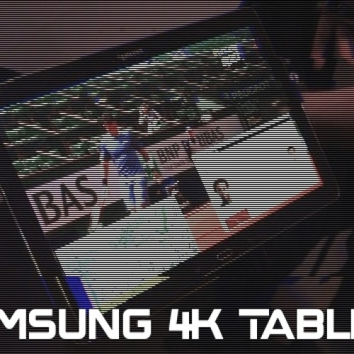 12-inch Samsung tablet with 4k spotted in the wild