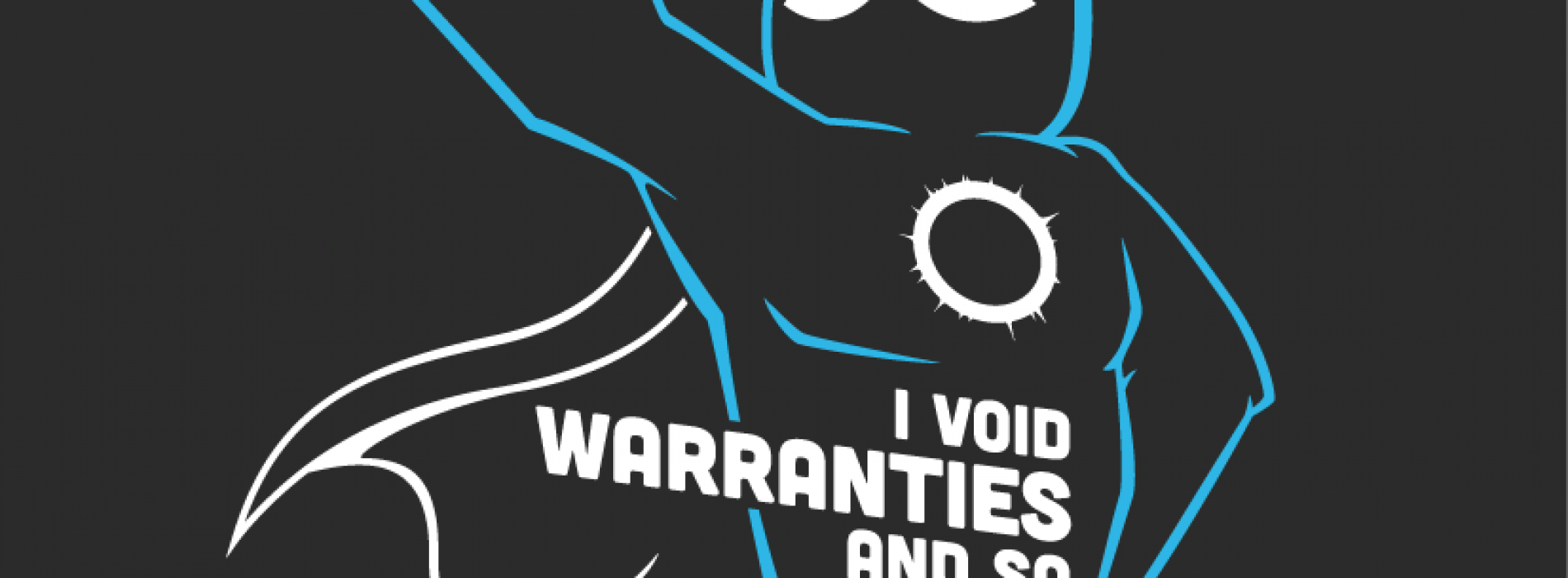 Grab the awesome I VOID WARRANTIES shirt from CyanogenMod today!