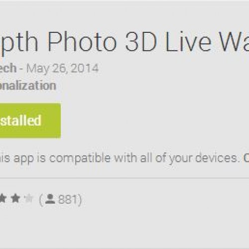 Create 3D live wallpapers with Depth Photo Live Wallpaper [App of the Day]