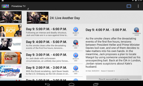 DroidTV is your own DVR in your pocket [App of the Day]