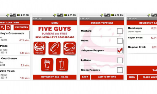 Hungry? Try Five Guys [App of the Day]