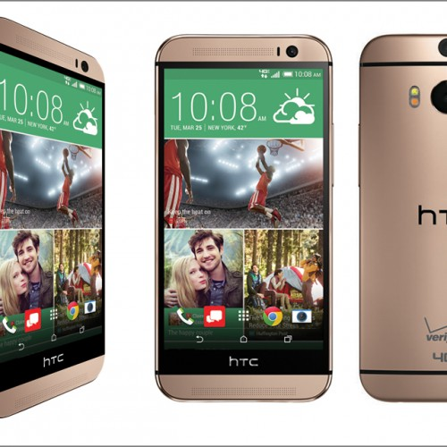 Verizon calls up red and gold HTC One M8 options