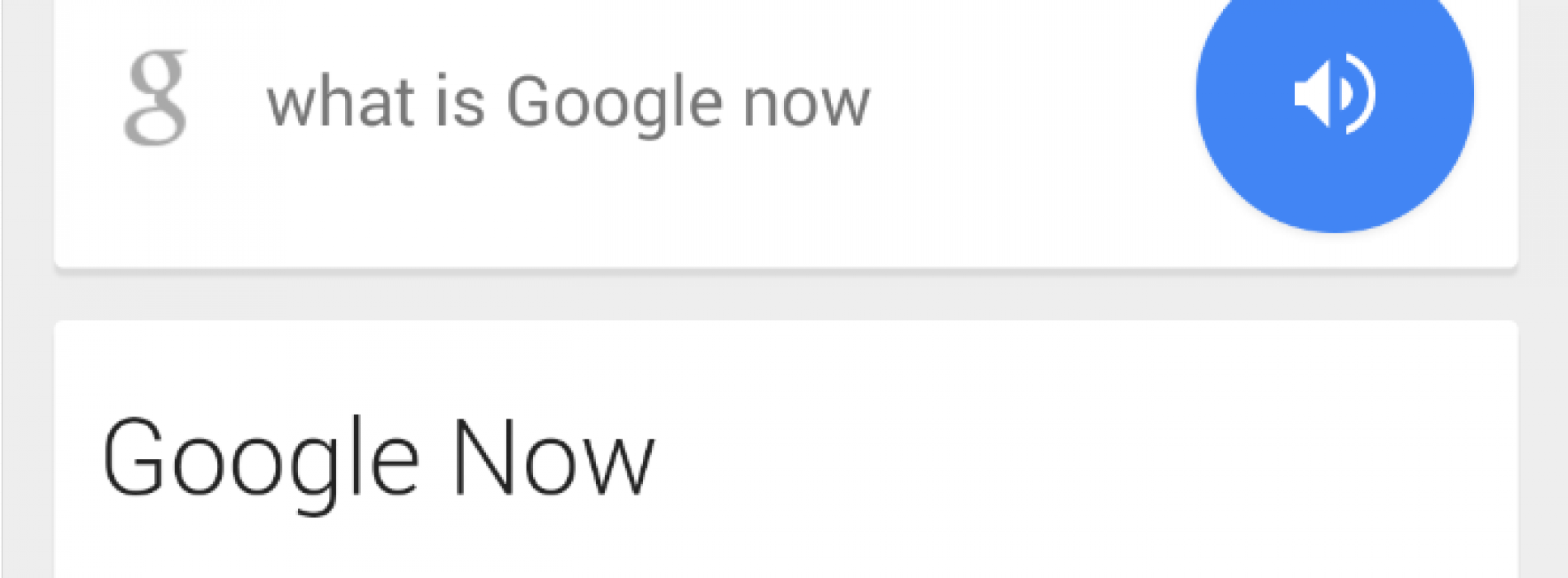 Big list of Google Now commands