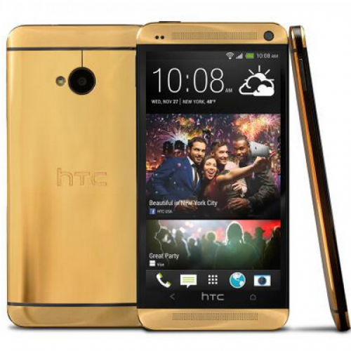 HTC giving away 24K Gold One M7 on Twitter