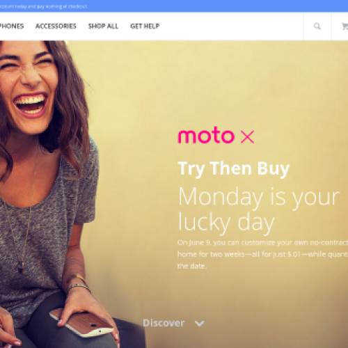 "Motorola schedules 24 hour ""Try Then Buy"" promotion for Moto X on June 9"