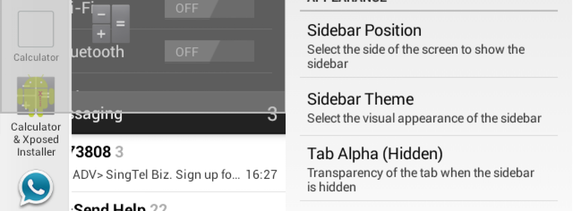 Get the Samsung-like MultiWindow Sidebar on any Android device [APK Download]
