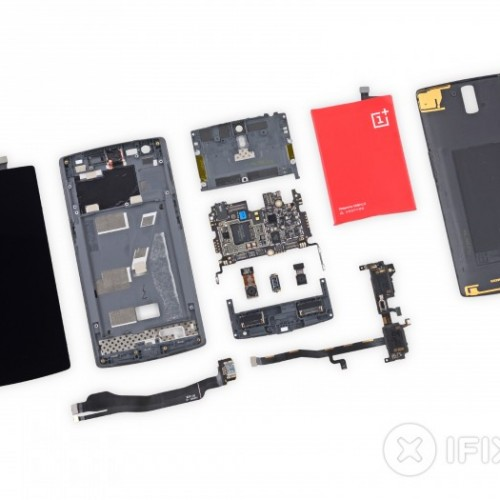iFixit tears down OnePlus One, not the simplest to repair