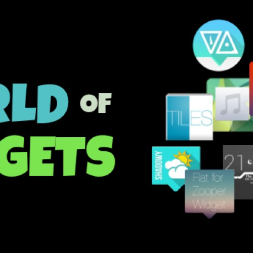 TWOW: Introducing The World Of Widgets