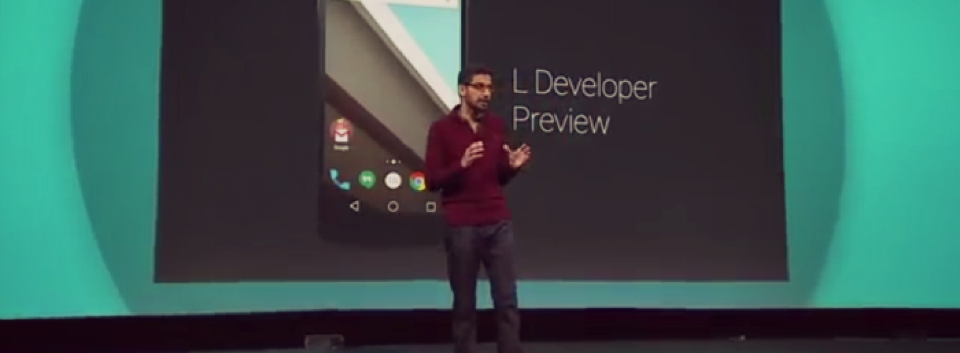 Google previews Android 'L' features