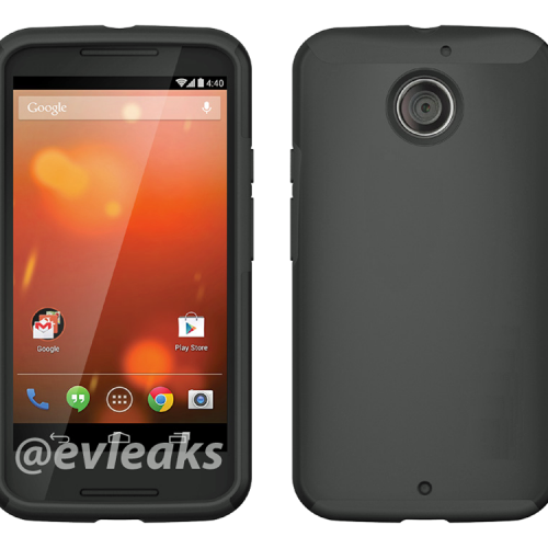 Moto X+1 render leaks, case included