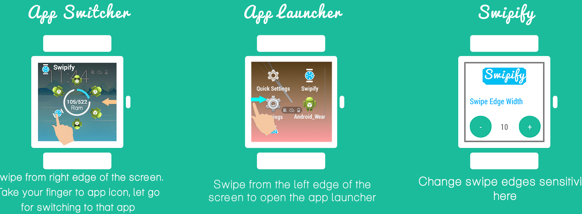 Watch This App: Swipify-Multitasker & Launcher