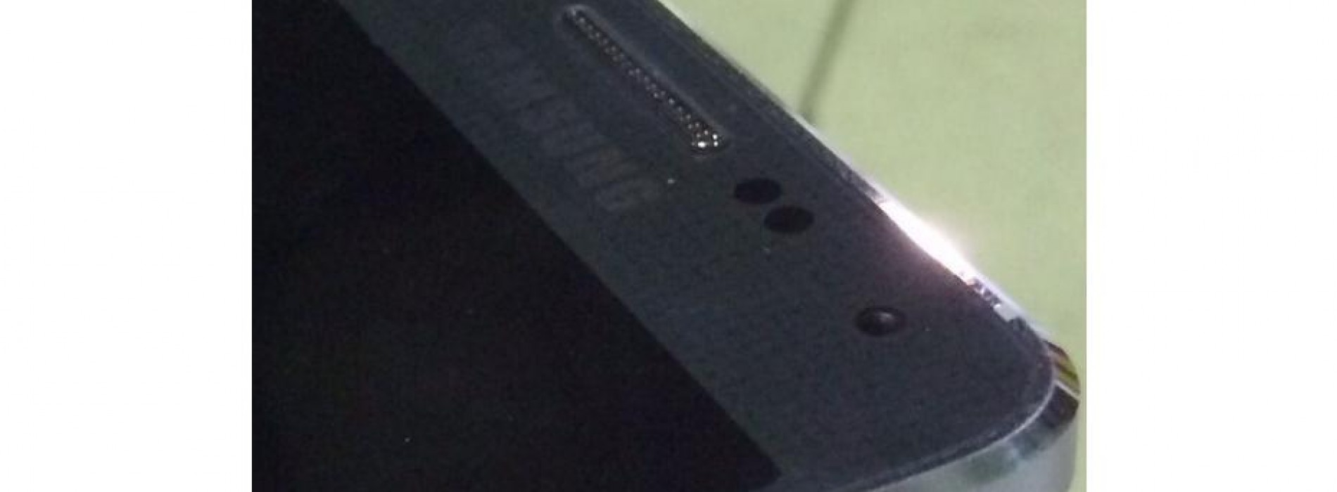 Galaxy F allegedly leaks in a first live photo