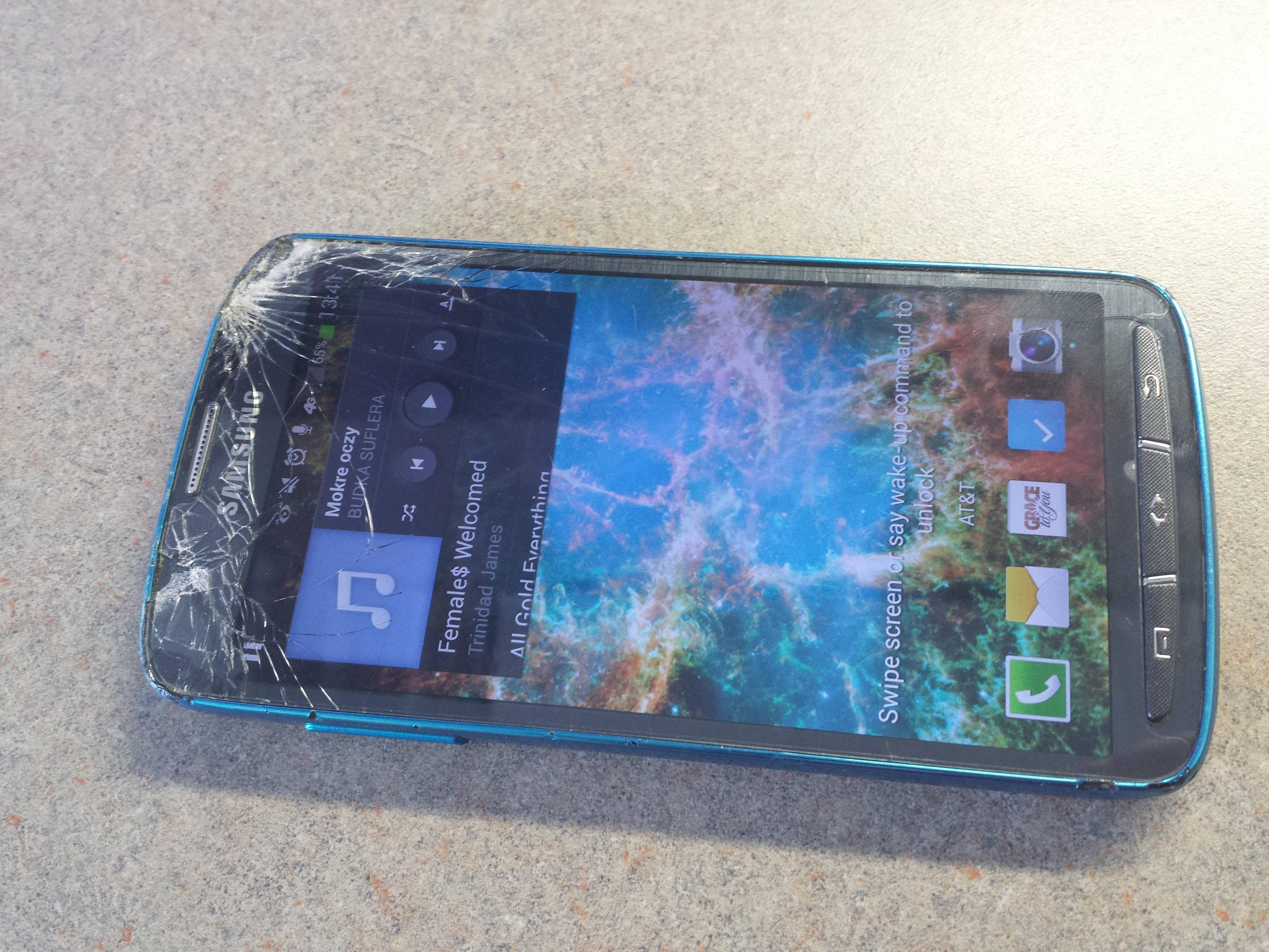 shattered galaxy s4 active_2