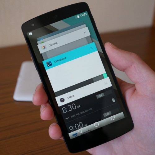 No updates planned for Android L Developer Preview