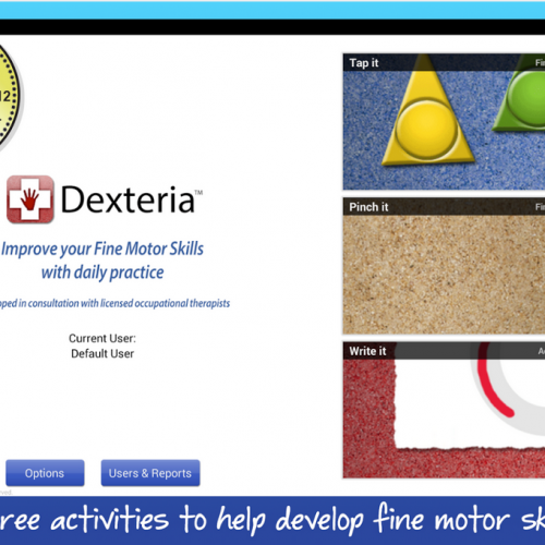 Tune your motor skills with Dexteria VPP Fine Motor Skills