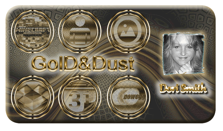 Gold Dust Icon Banner