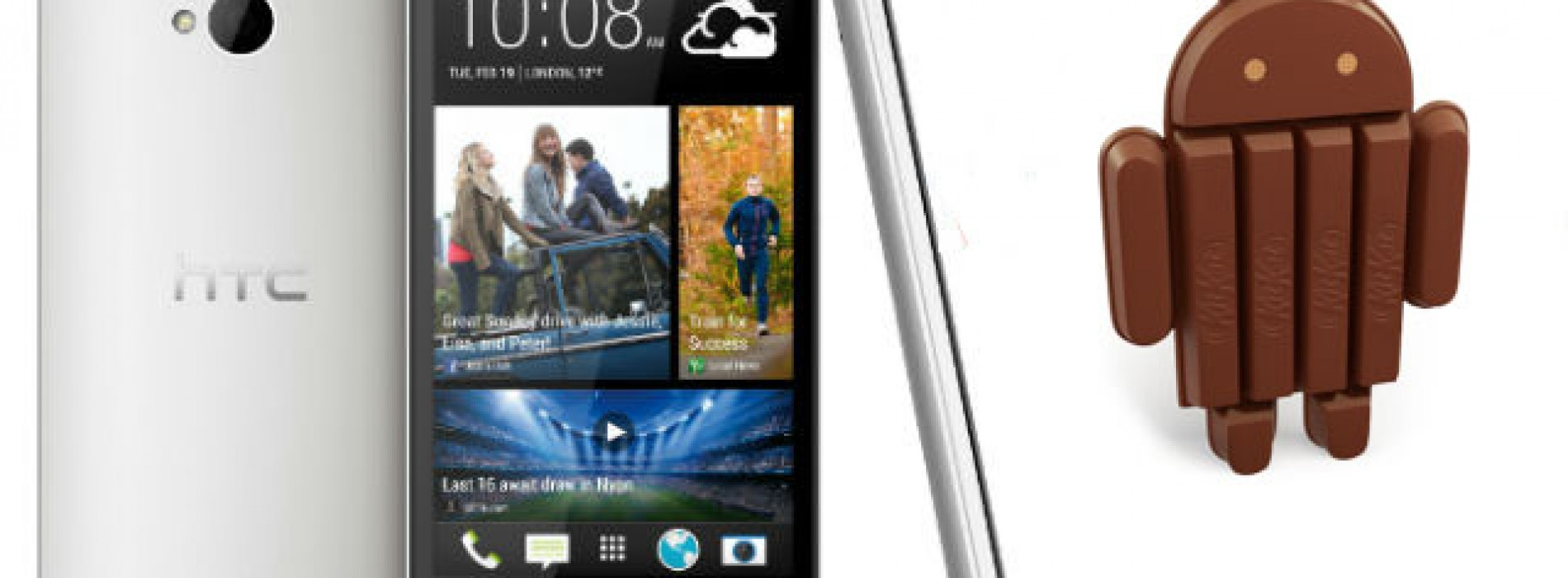 Android 4.4.4 rollout for HTC One M7 and M8 GPE has started