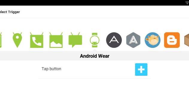 IFTTT android wear