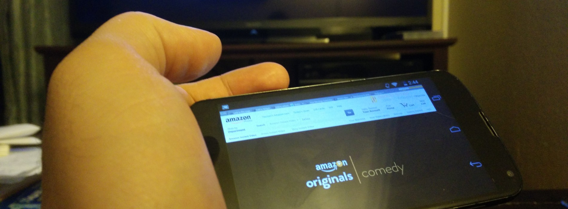 Watch or cast Amazon Instant Video from your device, other Flash content too