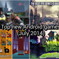 top android games july 2014