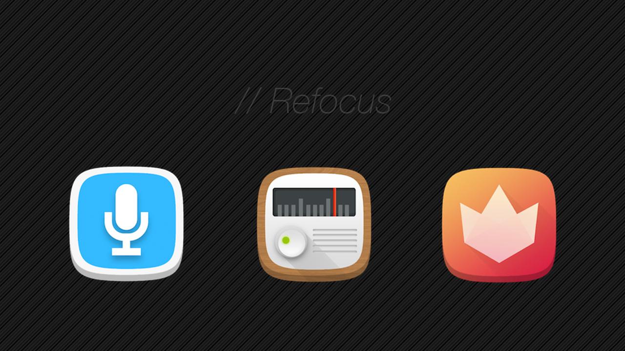 Refocus Icon Banner