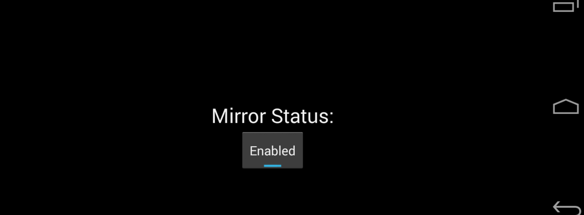 Enable Android screen mirroring to Chromecast on your rooted device