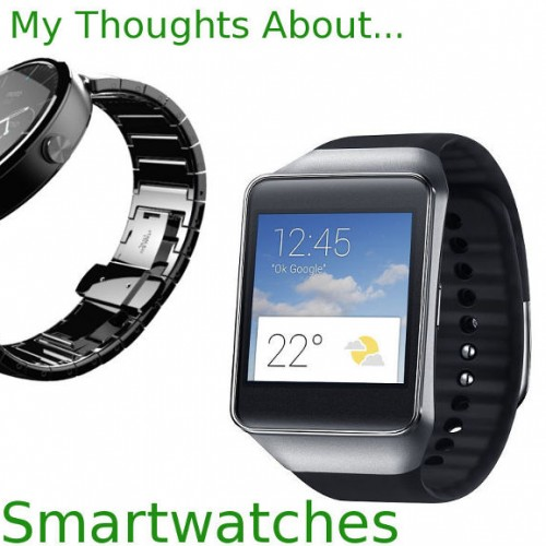 Random musings on smartwatches present and future
