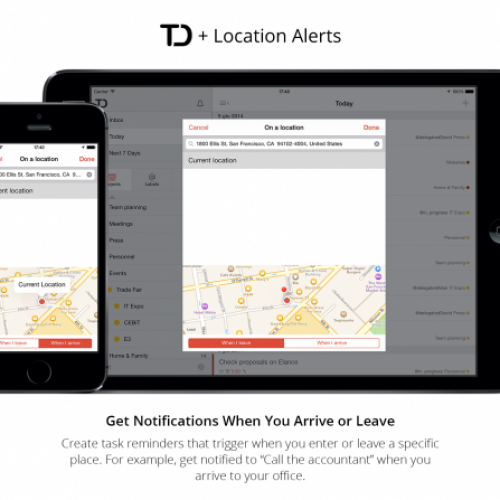 Todoist announces new location notifications, coming soon to Android