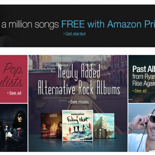 Amazon adds 'hundreds of thousands of songs' to Prime Music