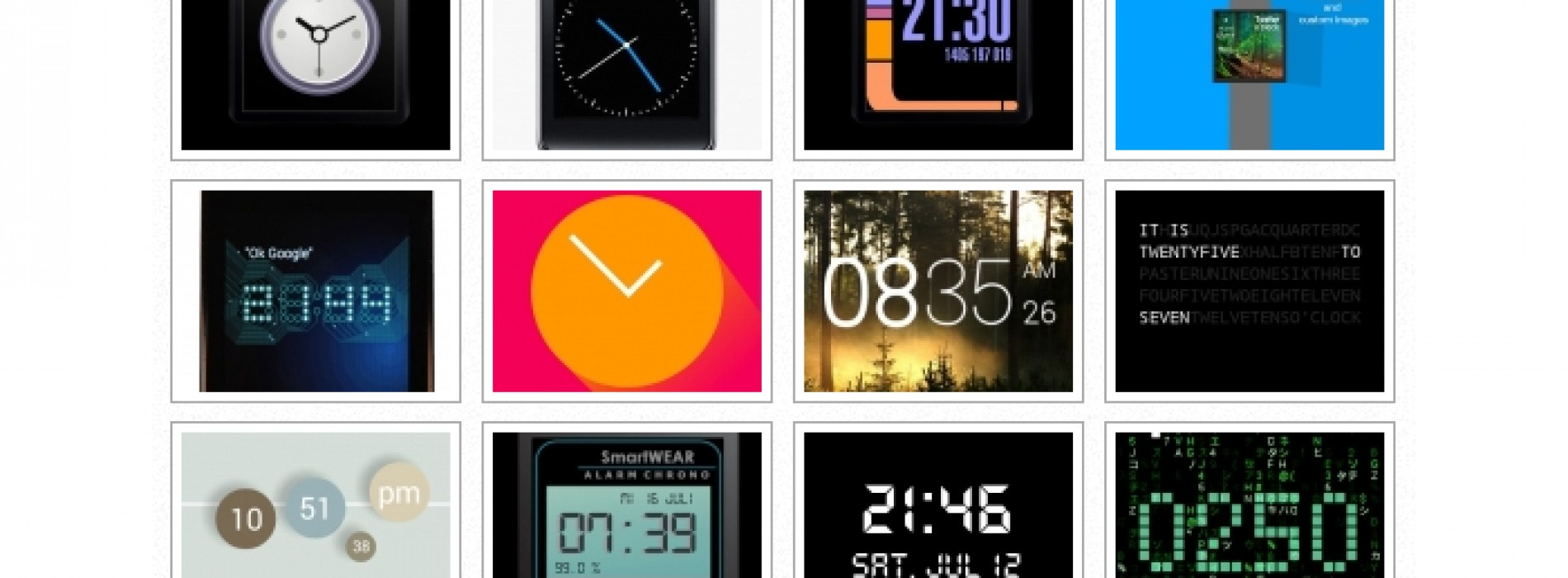 The best Android Wear watch face apps