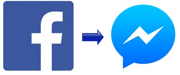 Facebook to messenger