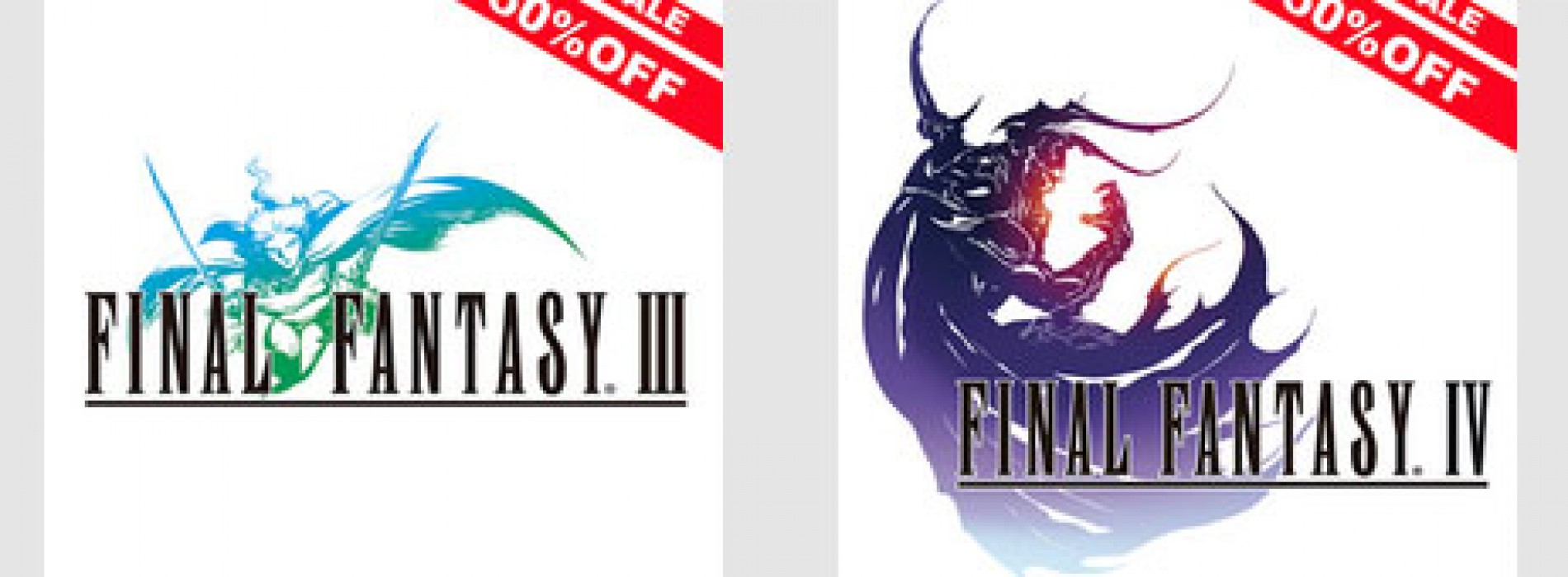 Final Fantasy III and IV now 50% off on Google Play