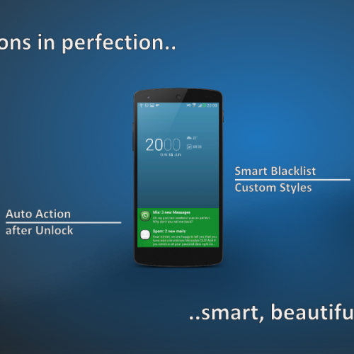Floatify – Stacked expandable notification center for your Android device