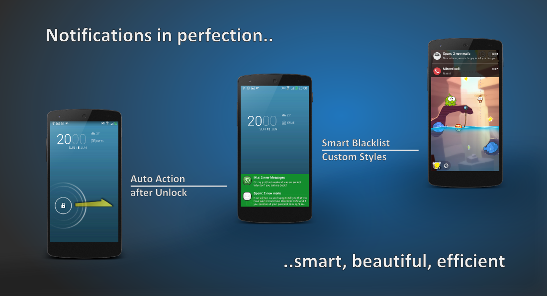 Floatify \u2013 Stacked expandable notification center for your Android
