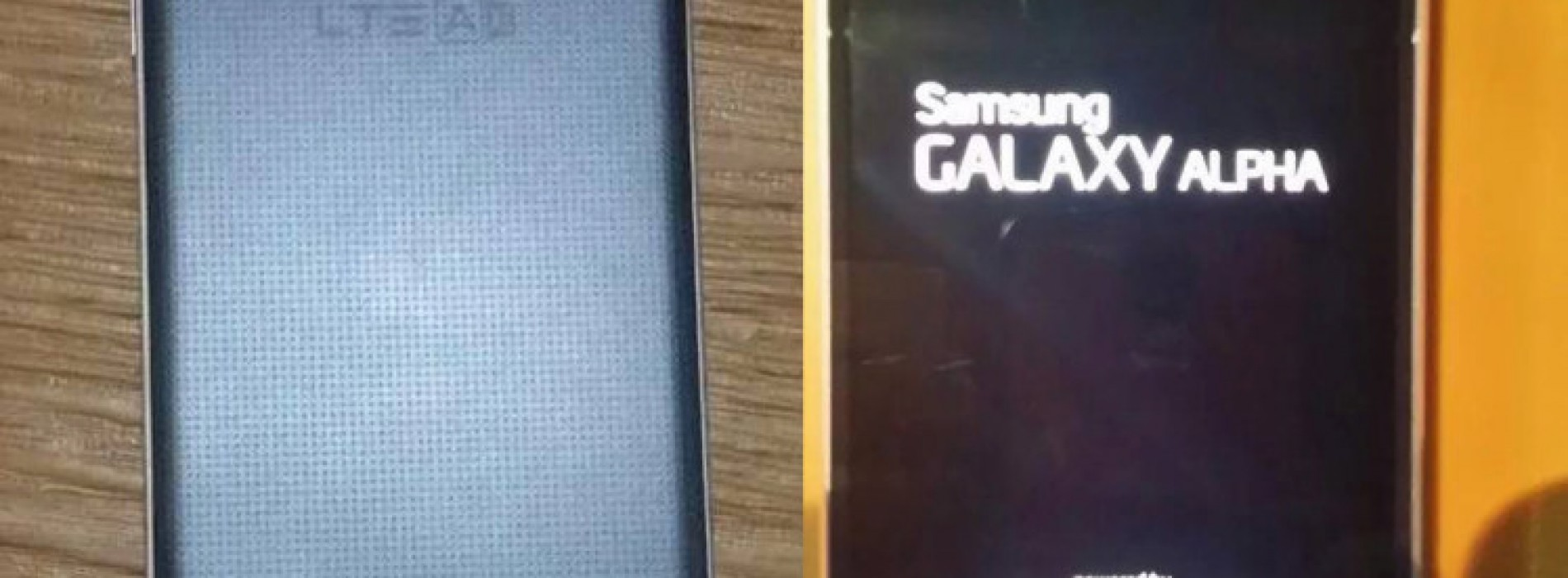 Samsung Galaxy Alpha leaks out yet again