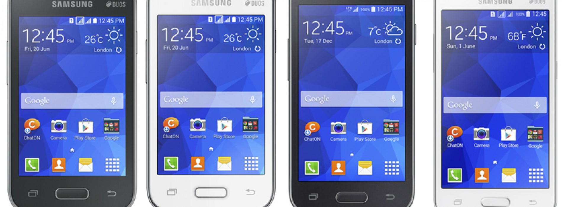 Samsung intros four budget KitKat smartphones for international markets
