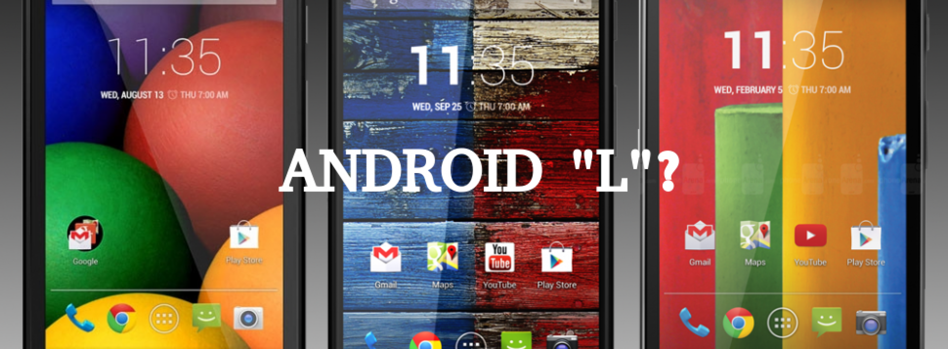 "Moto X and G will get the Android ""L"" update, according to customer support at least"