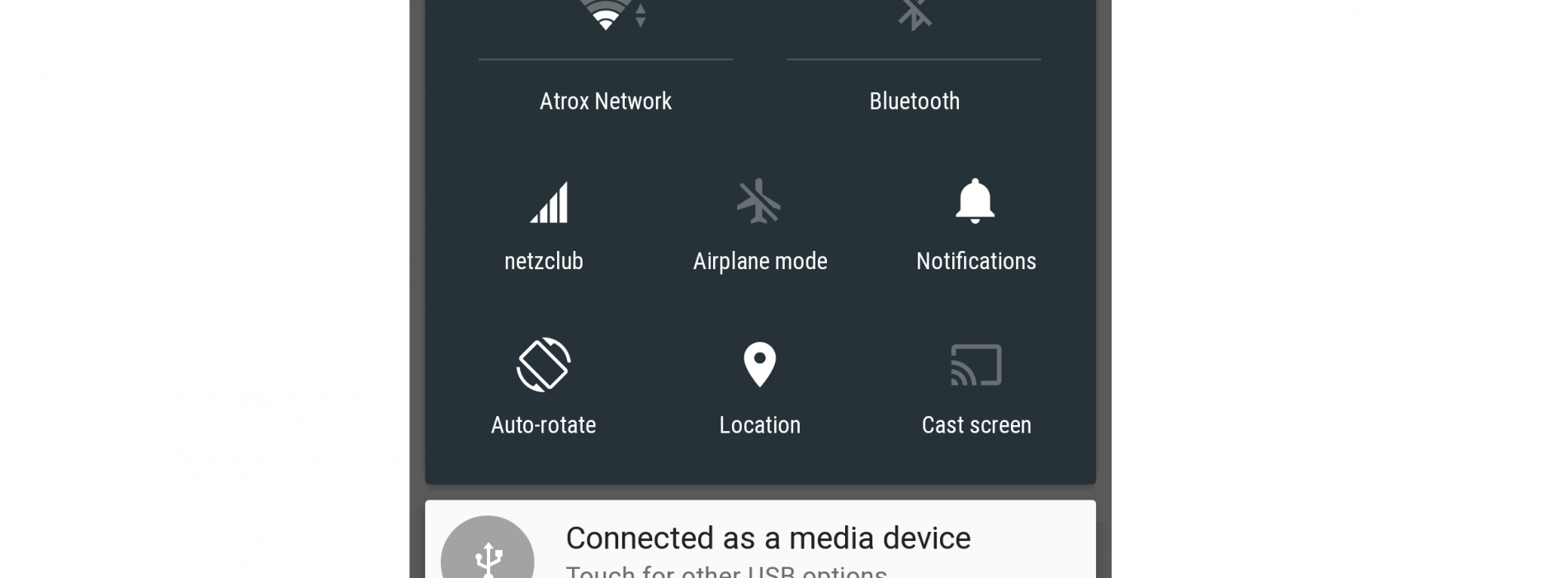 Android L's quick settings might be customizable once the OS gets released