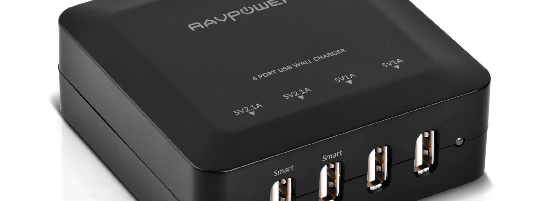 Accessory of the Day: RAVPower Bolt 4-Port Rapid Charging Station [72% OFF]