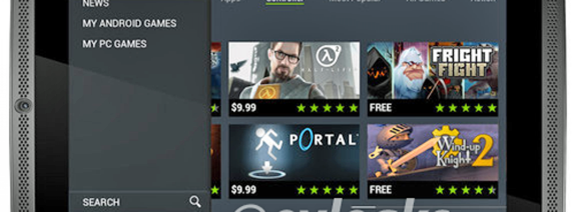 NVIDIA Shield tablet image leaks