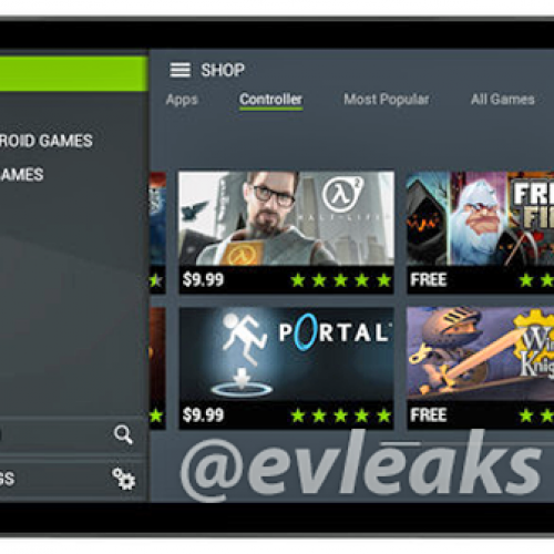 NVIDIA Shield tablet image leaks