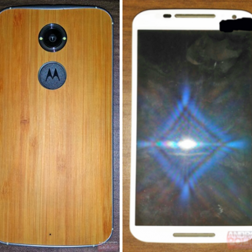 Alleged Moto X+1 poses for the camera