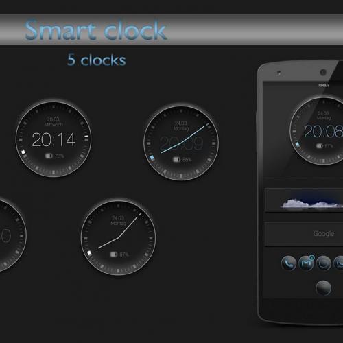 Get This Look: 'Smart Clock' Zooper Widget