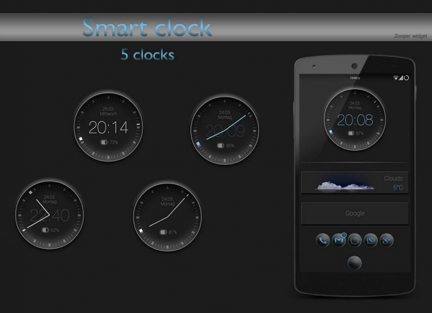 smart clock zooper
