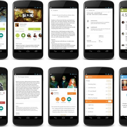 Download and install Google Play Store 4.9.13 aka Material Design update [APK]