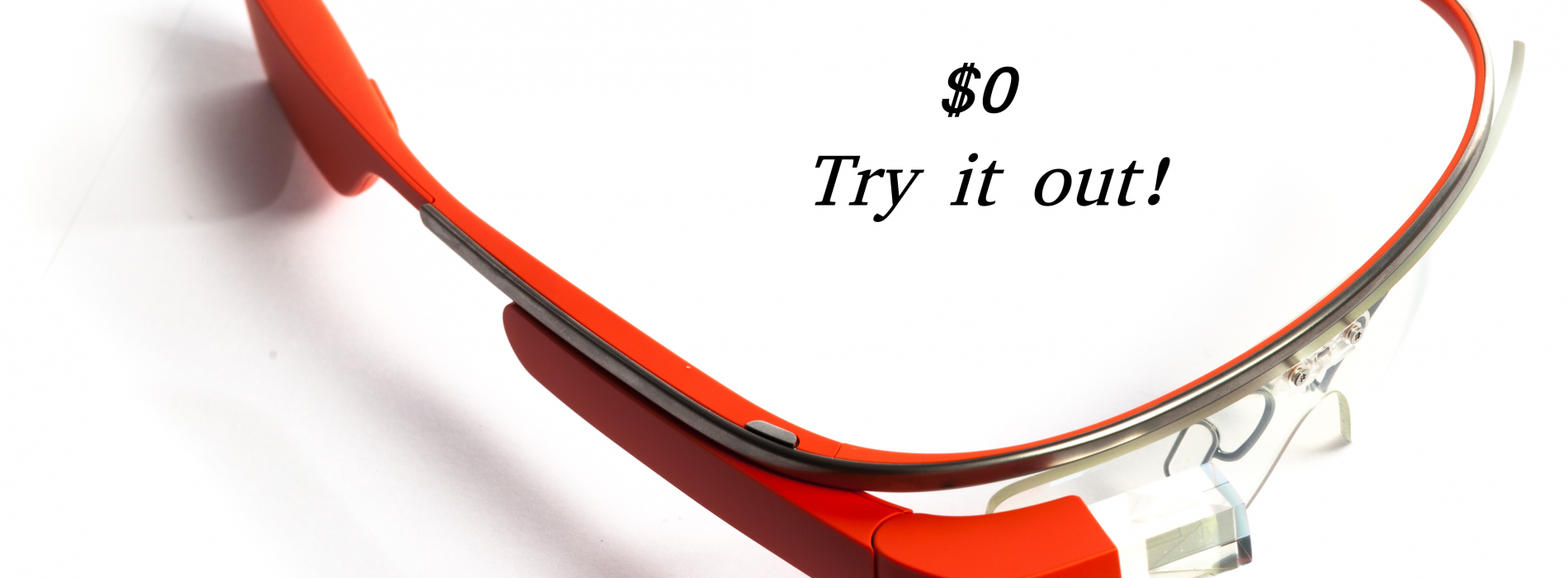Try Google Glass without spending a fortune
