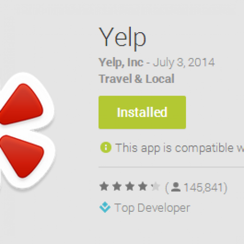 Find and review with Yelp [App of the Day]