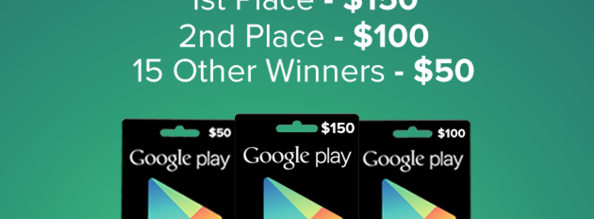 $1,000 Google Play Giveaway [DEALS]