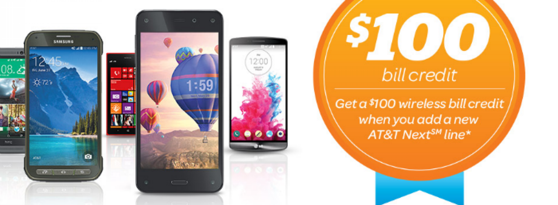 AT&T revives $100 credits for Next plan activations