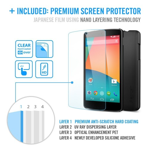 Accessory of the Day: Nexus 5 case and screen protector $8.99